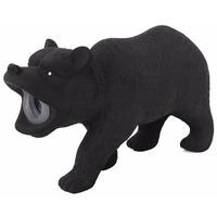 Latexový medvěd s pískadlem 15x5x9 cm