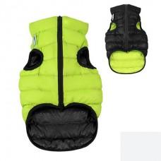 AIRY VEST bunda pro psy zelená/černá XS 22