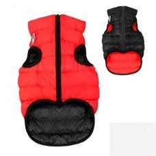 AIRY VEST bunda pro psy červená/černá XS 22