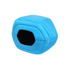 Pelíšek / domeček Airy Vest modrý M - 60x29x42cm