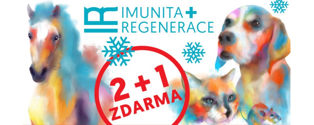 IR Imunita a regenerace 2+1 ZDARMA