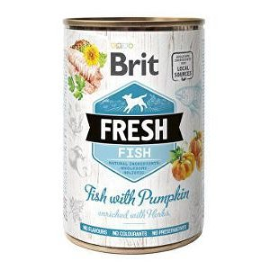 Brit Fresh Fish with Pumpkin 400g