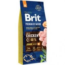Brit Premium Dog by Nature Junior M 15kg