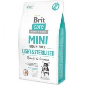 Brit Care Dog Mini Light & Sterilised 400g