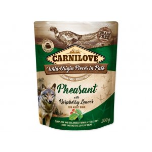 Carnilove Dog Pouch Paté Pheasant & Raspberry 300g