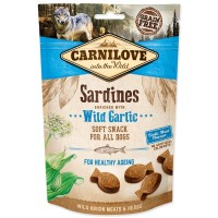 Carnilove Dog Semi Moist Sardines enriched with Wild garlic 200g