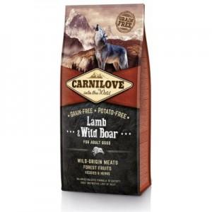 Carnilove Dog Lamb & Wild Boar for Adult NEW 1,5kg