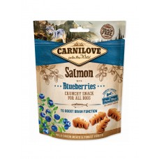 Carnilove Dog Crunchy Salmon with Blueberries 200g