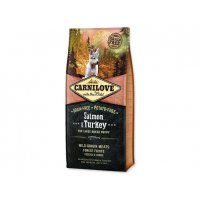 Carnilove Dog Salmon & Turkey for Large Breed Puppies NEW 12kg