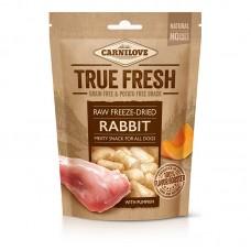 Carnilove Raw freeze-dried Rabbit with pumpkin 40g