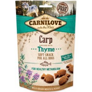 Carnilove Dog Semi Moist Carp with Thyme 200g