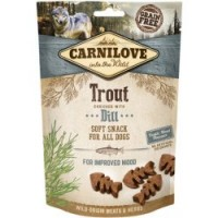 Carnilove Dog Semi Moist Trout enriched with Dill 200g