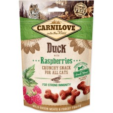 Carnilove Cat Crunchy Duck with Raspberries 50g