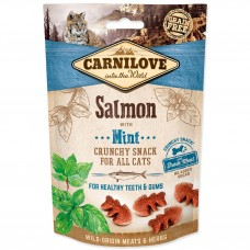 Carnilove Cat Crunchy Salmon with Mint 50g