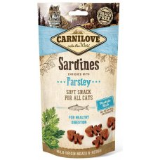Carnilove Cat Semi Moist Sardine enriched with Parsley 50g