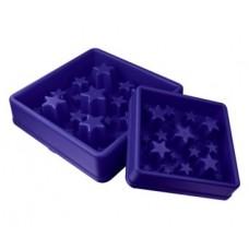 Eat Slow Star modrá L 30cm - Zpomalovací miska