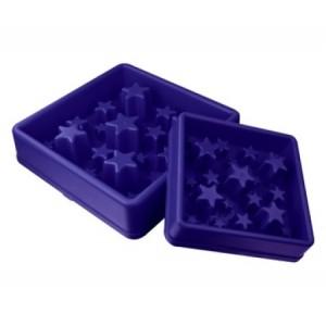 Eat Slow Star modrá S 20cm - Zpomalovací miska