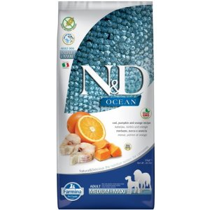N&D Low Grain DOG Ocean Adult M/L Codfish & Orange 2,5kg