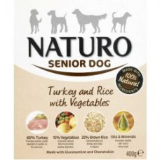 Naturo Senior Turkey&Rice with Veget 400g