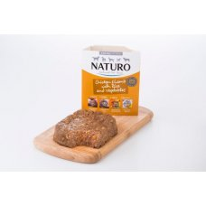 Naturo Adult Chicken, Lamb&Rice with Veget 150g