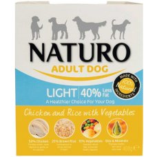 Naturo Light Chicken&Rice with Veget. 400g