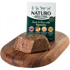 Naturo Adult Duck&Rice with Vegetables 400g