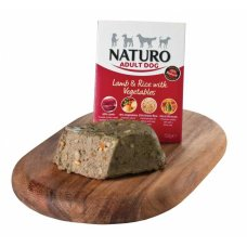 Naturo Adult Lamb&Rice with Vegetables 400g