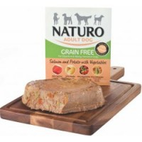 Naturo Grain Free Salmon&Potato with Veget 400g