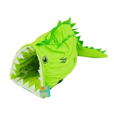 Kukaň pro psy ve tvaru krokodýla - 88x33x27 cm