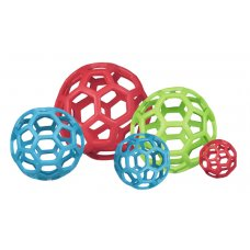 JW Hol-EE děrovaný míč - mix barev - 11cm Medium