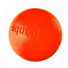 Orbee-Tuff® Ball Squeak pískací 8cm oranžový