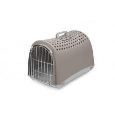 IMAC Přepravka pro psa a kočku plastová - šedá - D 50 x Š 32 x V 34,5 cm