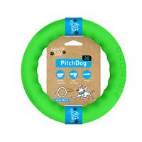 PitchDog - kroužek pro psy zelený 20cm