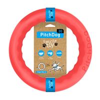 PitchDog - kroužek pro psy růžový 20cm