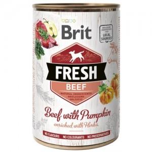 Brit Fresh Beef with Pumpkin 400g