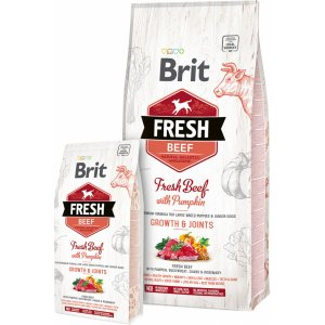 Brit Fresh Beef with Pumpkin Puppy Large Bones & Joints 2,5kg