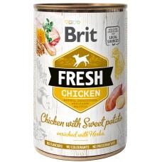 Brit Fresh Chicken with Sweet Potato 400g