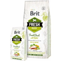 Brit Fresh Duck with Millet Adult Run & Work 12kg