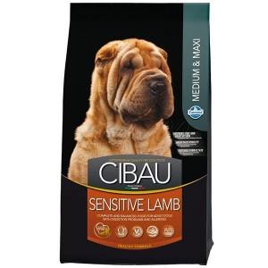 Cibau Sensitive Lamb Medium & Maxi 12kg + 2kg ZDARMA (do vyprodání)