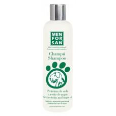 Menforsan Přírodní šampon s hedvábnými proteiny a arganovým olejem 300ml