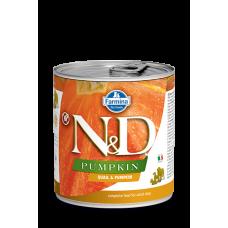 N&D DOG Pumpkin - Quail & Pumpkin Adult 285g - 1+1 konzerva ZDARMA - platí do vyprodání