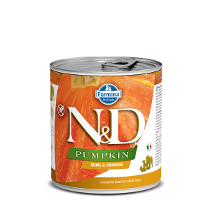N&D DOG Pumpkin - Quail & Pumpkin Adult 285g