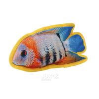Pevná a odolná hračka 3Dtisk-Ryba Kančík 28x16cm
