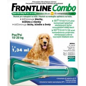 Frontline Combo Spot-on Dog M sol 1x1,34m