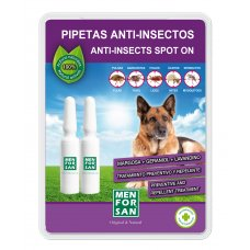 Menforsan Antiparazitní pipeta proti blechám a klíšťatům pro psy - 2x1,5ml