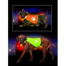 Vesta reflex Safety Dog krk 42-48, břicho 58-66 Žlutá KAR