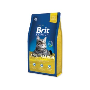 Brit Premium Cat Adult Salmon 8kg NEW