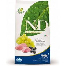 N&D Prime CAT Adult Lamb & Blueberry 1,5kg (Jehně s borůvkami)