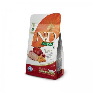 N&D Grain Free Pumpkin CAT NEUTERED Quail & Pomegranate 300g