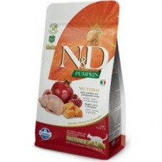 N&D Grain Free Pumpkin CAT Quail & Pomegranate 1,5kg